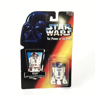 R2-D2 Red Card - Star Wars POTF Kenner