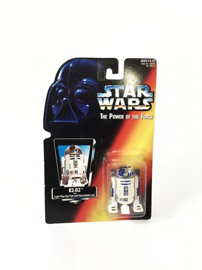 R2-D2 Red Card - Star Wars POTF Kenner
