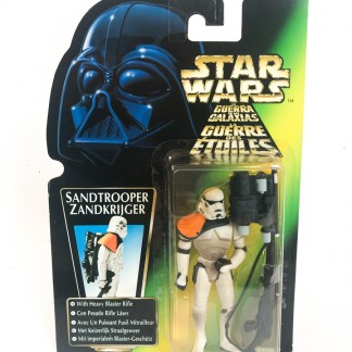 Sandtrooper Green Card Trilogo - Star Wars POTF