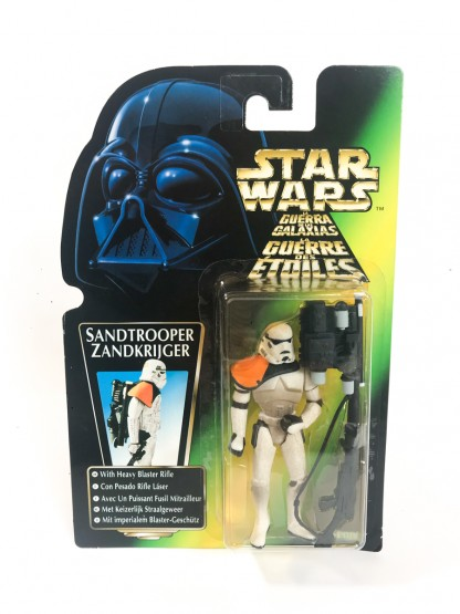 Sandtrooper Green Card Trilogo - Star Wars POTF