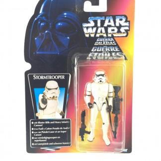 Stormtrooper trilogo red card - Star wars POTF 1997