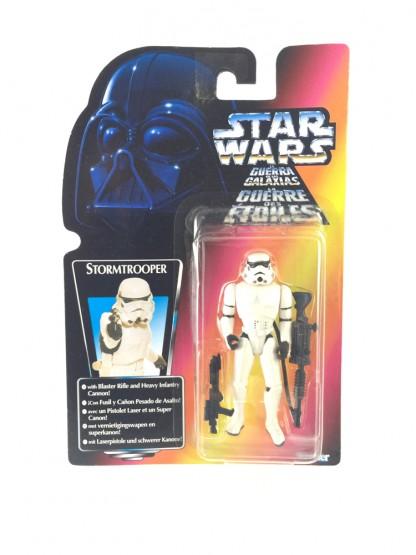 Stormtrooper trilogo red card - Star wars POTF 1997