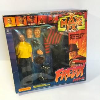 Freddy Krueger Maxx Fx - Matchbox 1989
