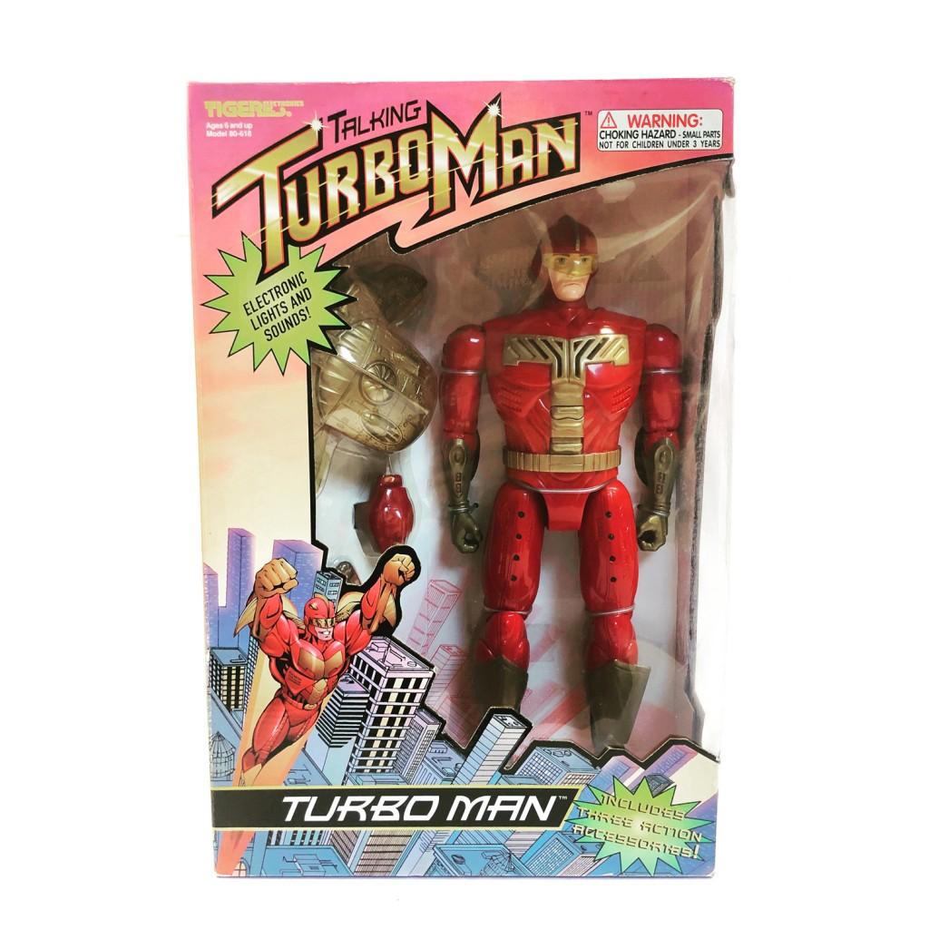 TURBOMAN - La course au jouet - 1996 Tiger Electronics SEALED