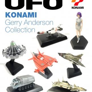 UFO Gerry Anderson KONAMI full set