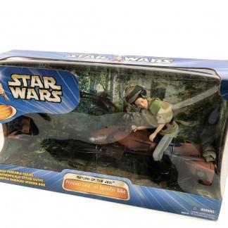 Princess Leia on Speeder Bike HASBRO- scellé