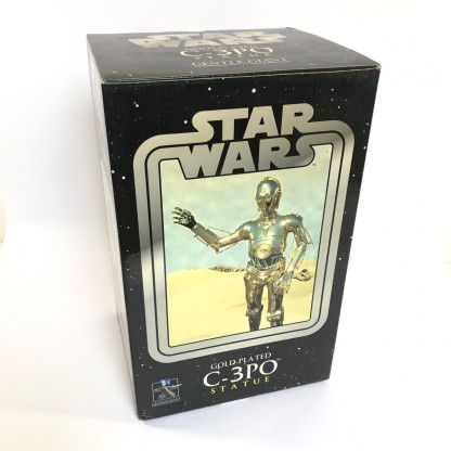 C-3po Gold-plated Statue - Gentle Giant 2005